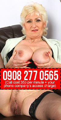 Horny Granny Phone Sex Chat